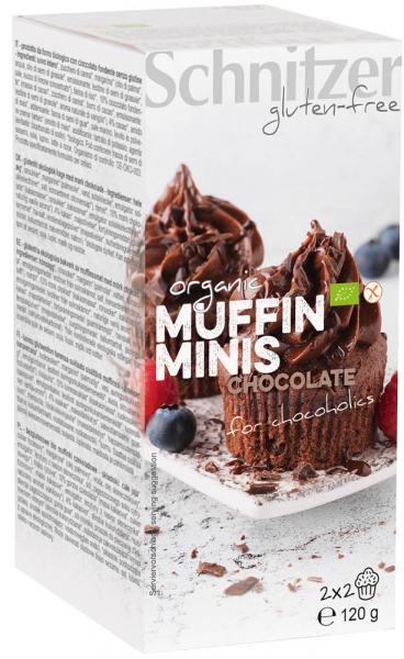 Mini muffins bio cu ciocolata FARA GLUTEN 0