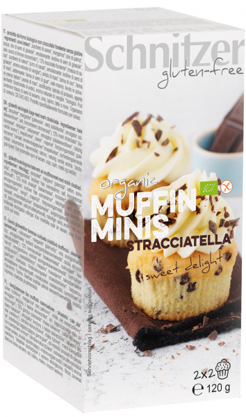 Mini muffins bio cu Stracciatella FARA GLUTEN [0]