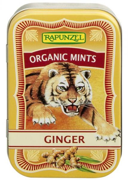 Mints - Drajeuri ecologice ghimbir HIH 0
