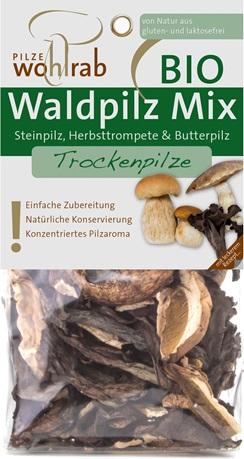 Mix de ciuperci salbatice bio deshidratate 0