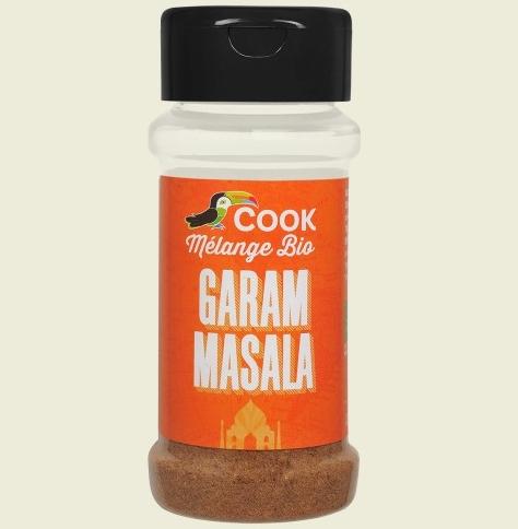 Mix de condimente Garam Masala bio 35g Cook 0