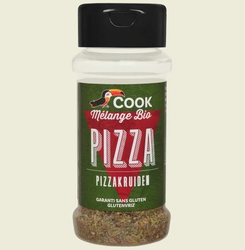 Mix de condimente pentru pizza bio 13g Cook 0