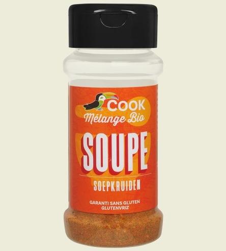 Mix de condimente pentru supa bio 40g Cook 0