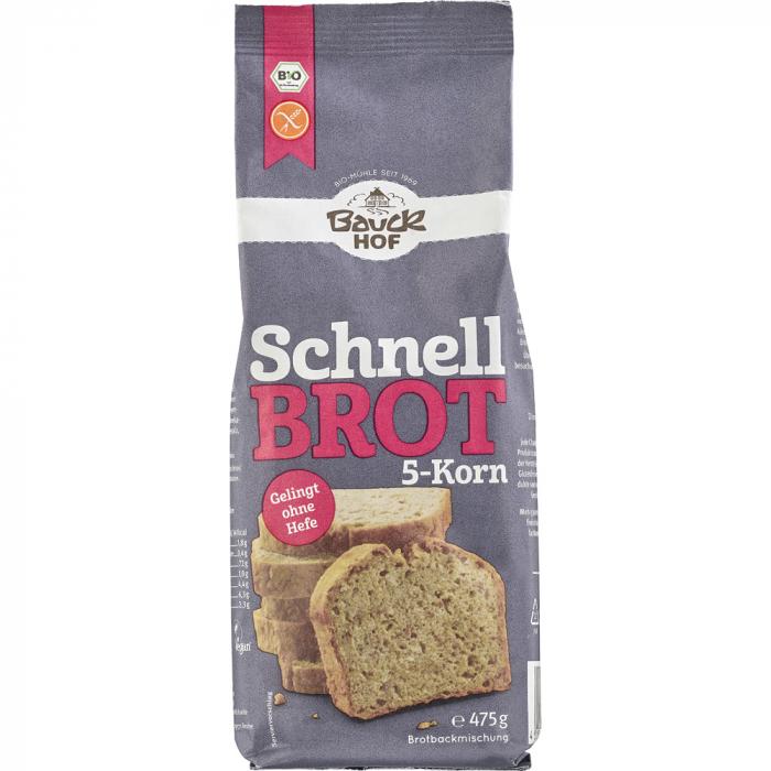 Mix din 5 cereale pentru paine rapida FARA GLUTEN [0]