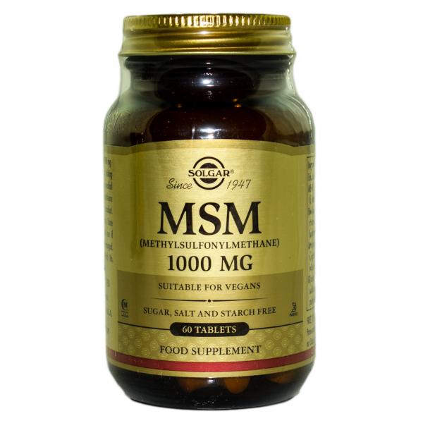 MSM 1000mg  60cpr SOLGAR 0