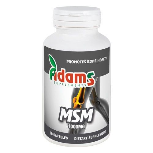 Msm 1000mg, 90 tablete, Adams Vision 0