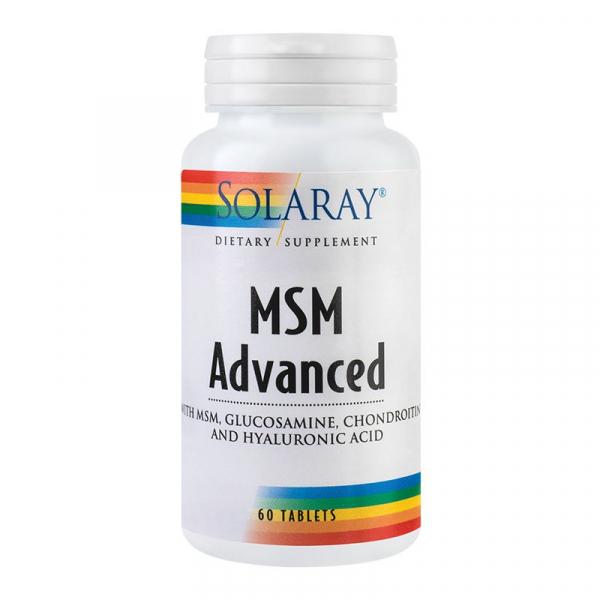MSM Advanced Solaray, 60 tablete, Secom 0