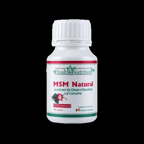 MSM Capsule 100% natural, 180 capsule, Health Nutrition 0