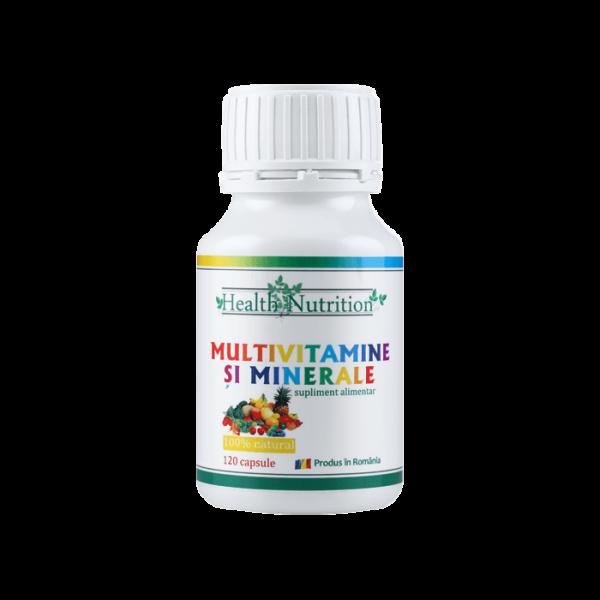 Multivitamine si Minerale, 120 CPS, Health Nutrition [0]