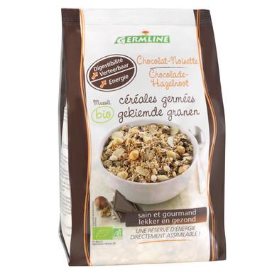 Musli din cereale germinate ciocolata-alune bio 350g 0