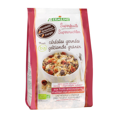 Musli din cereale germinate cu superfructe bio 350g 0