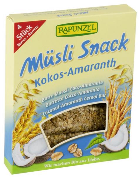 Musli Snack cocos si amarant 0