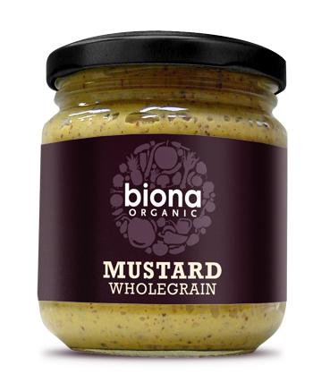 Mustar integral bio 200g Biona 0