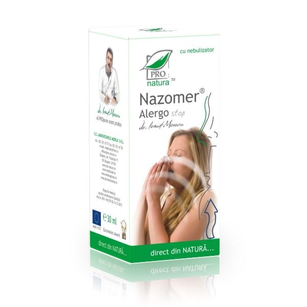 Nazomer alergo stop cu nebulizator, 30ml, Medica 0