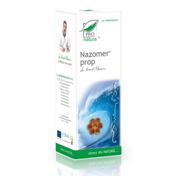 Nazomer cu propolis, 50ml nebulizator, Medica [0]