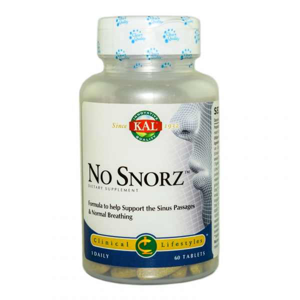 No Snorz Kal, 60 tablete, Secom 0