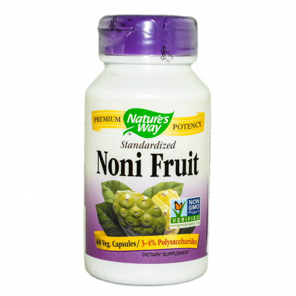 Noni Fruit 500mg Nature's Way, 60 capsule 0