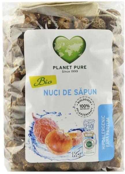 Nuci de sapun bio 1kg Planet Pure 0