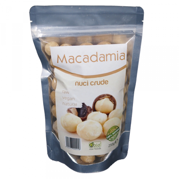 Nuci macadamia raw 250g 0