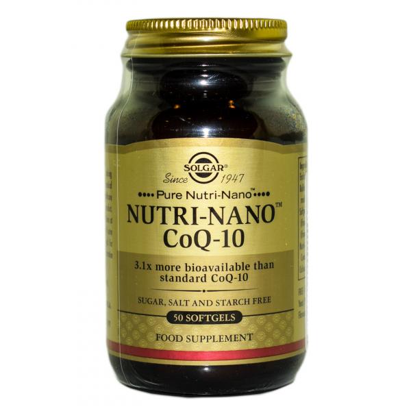 Nutri-Nano (Coenzima Q10) 50 capsule moi, Solgar 0