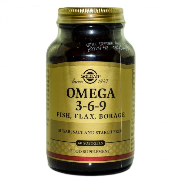 Omega 3-6-9 capsule moi 60cps SOLGAR 0