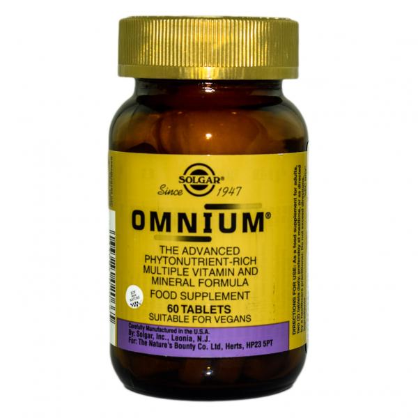 Multivitamine Omnium, 60 tablete, Solgar 0