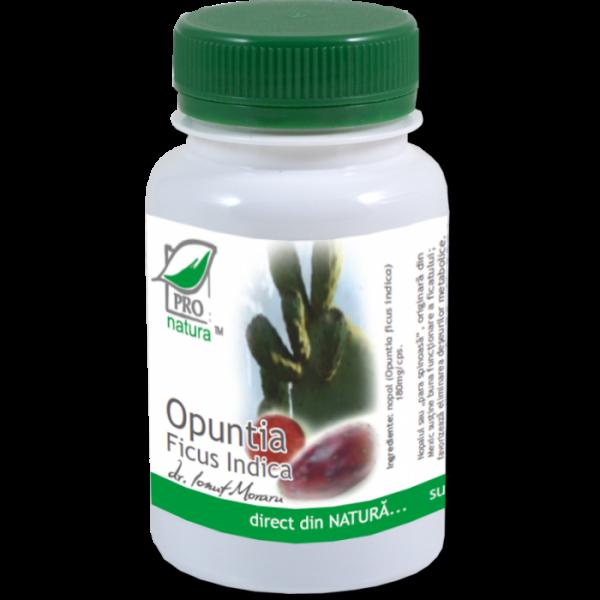Opuntia ficus indica, 60 capsule, Medica [0]