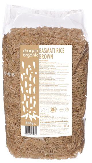 Orez basmati brun bio 500g 0