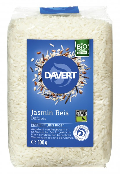 Orez Jasmin alb bio 500g  Wildlife Friendly DAVERT 0