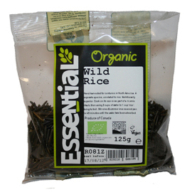 Orez salbatic bio 125g 0