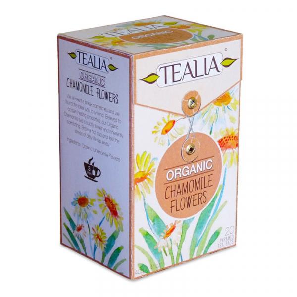 Organic chamomile ceai 20dz [0]