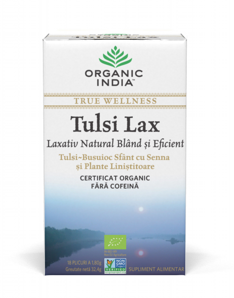 ORGANIC INDIA Ceai Tulsi Lax 0
