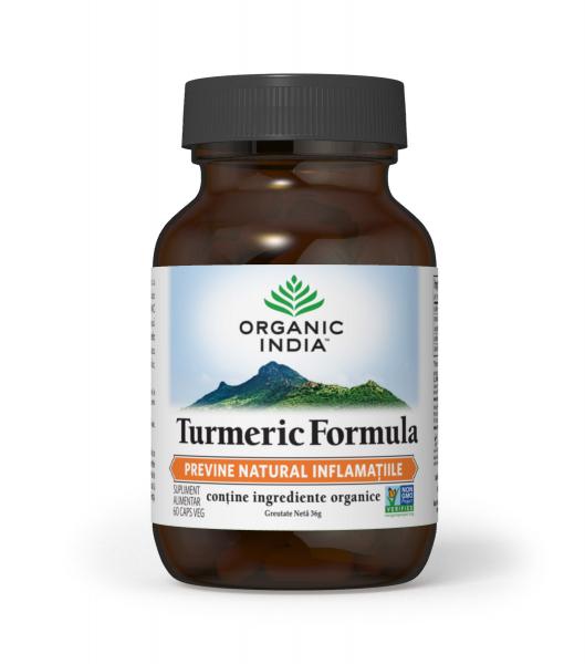 Organic India Turmeric Formula - Antiinflamator 0