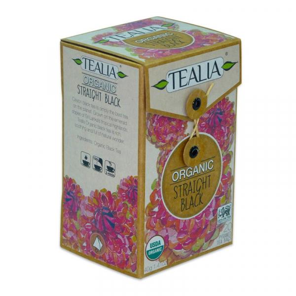 Organic straight black ceai 20dz 0