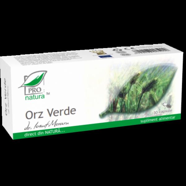 Orz verde, 30 capsule, Medica 0