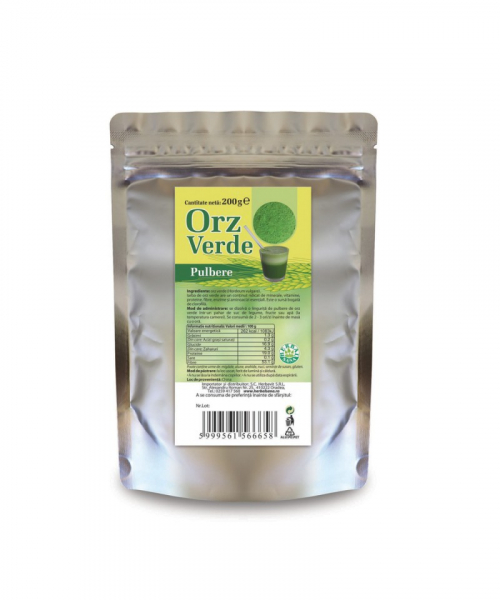 Orz verde pulbere, 200 g, Herbavit [0]