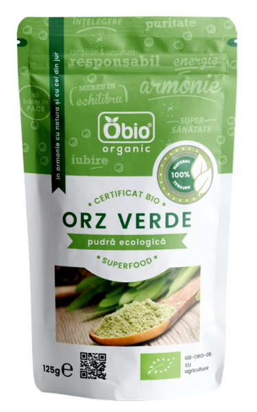 Orz verde pulbere bio 125g 0