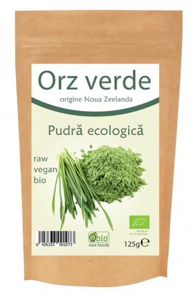 Orz verde pulbere bio NZ 125g 0