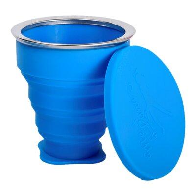Pahar pliabil pentru igienizarea cupei menstruale albastru 225ml 0