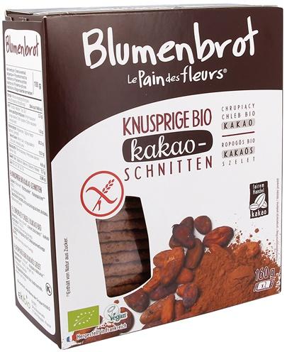Paine bio cu cacao FARA GLUTEN 0