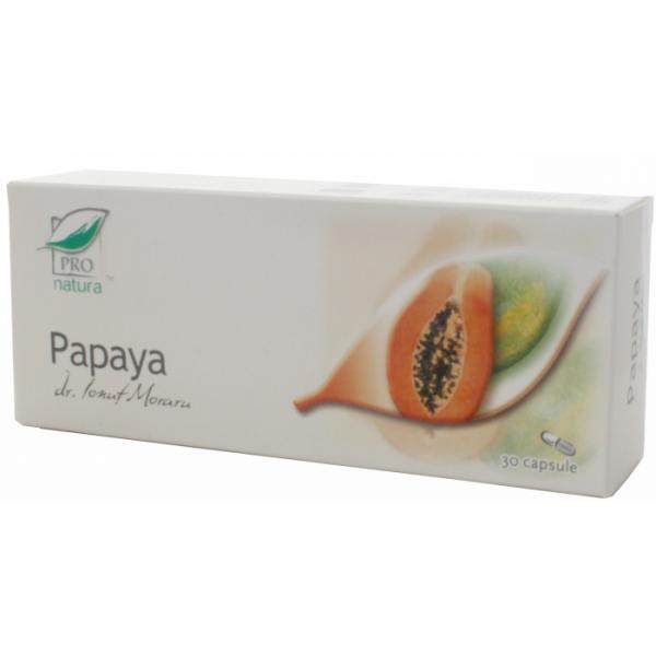Papaya, 30 capsule, Medica 0