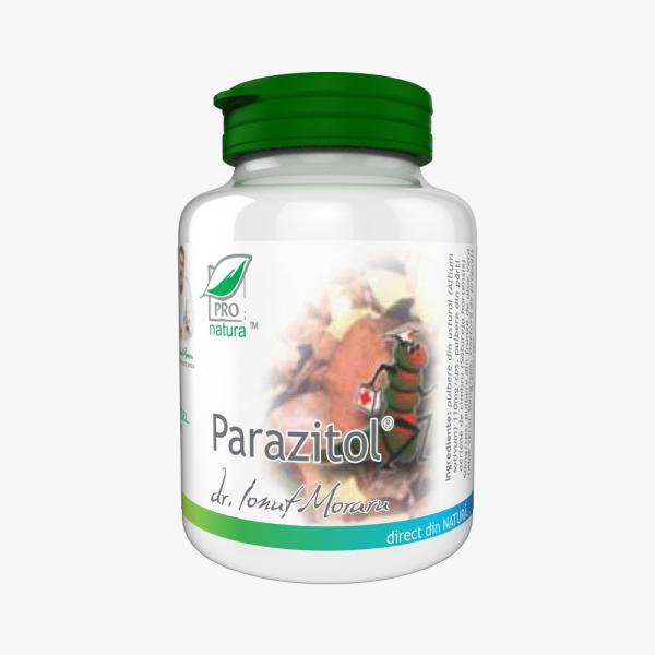 Parazitol, 200 capsule, Medica 0