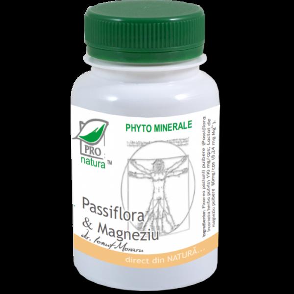 Passiflora & Magneziu, 60 capsule, Medica 0