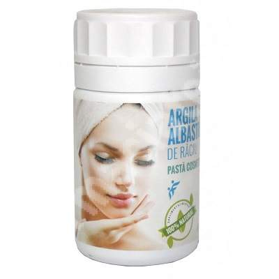 Pasta cosmetica de Argila Albastra de Raciu, 500 g, Romcos Impex 0
