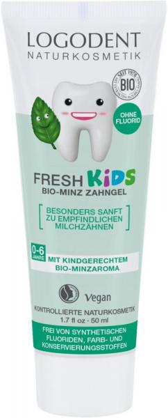 Pasta de dinti gel cu menta pentru copii 0