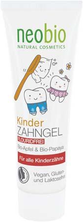 Pasta de dinti gel pentru copii 0