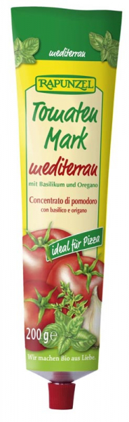 Pasta de tomate bio Mediteraneana, in tub [0]