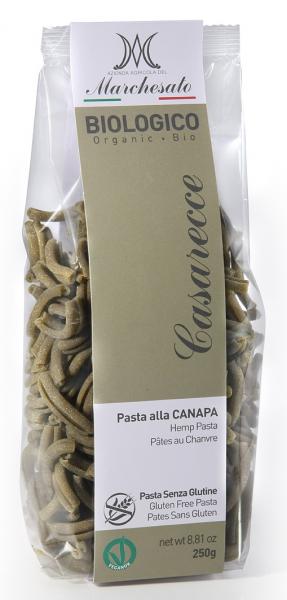 Paste casarecce cu canepa bio fara gluten 250g Marchesato 0