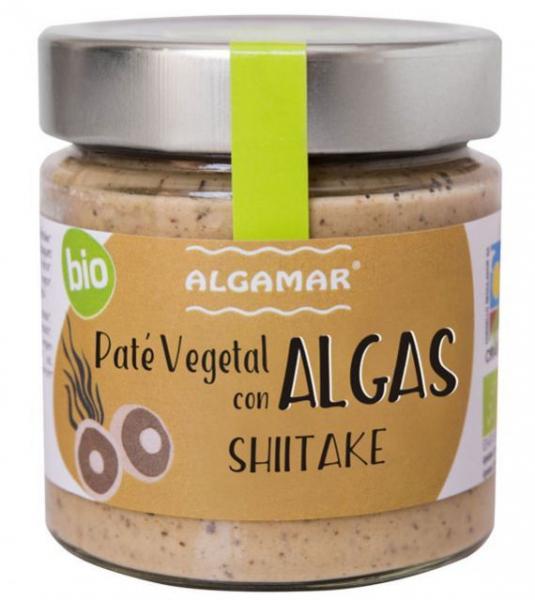 Pate vegetal cu alge si ciuperci shiitake eco 180g 0