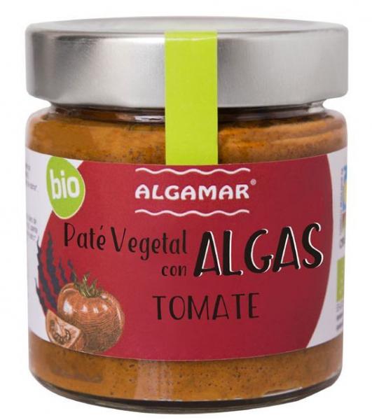 Pate vegetal cu alge si rosii eco 180g 0
